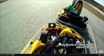 Lockarps Gokart video